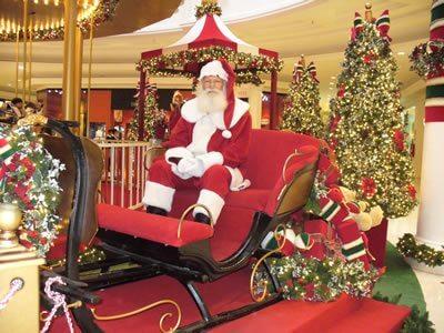 Papai Noel visita Eventos em São Paulo