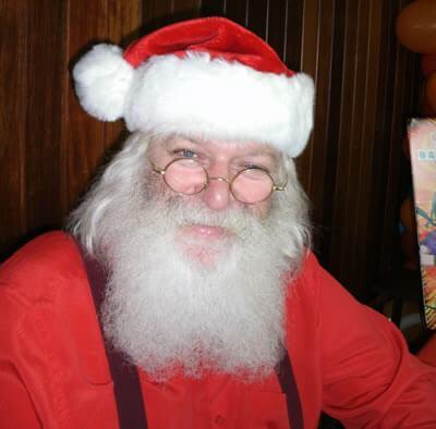 Papai Noel com Barba Real em São Paulo