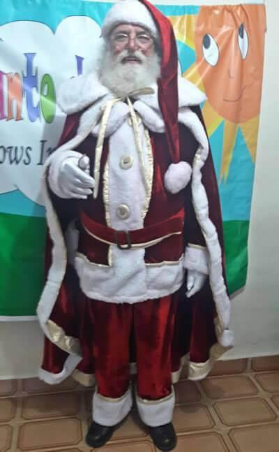 Papai Noel para Eventos em São Paulo
