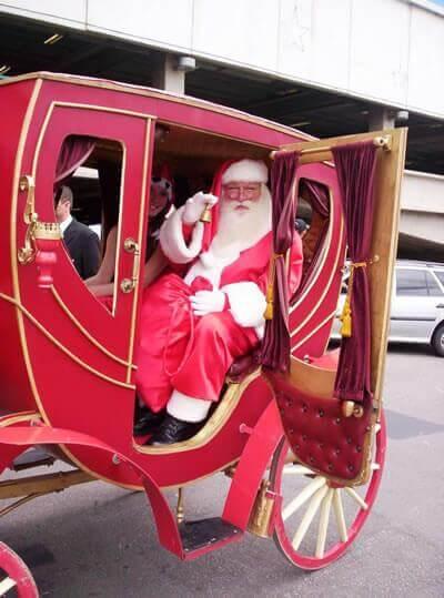 Papai Noel em Carruagem em São Paulo